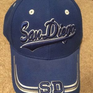 Other - Dad Hat Blue Strapback Velcro Grandpa Hat